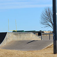Mathis Skate Park in Mitch Park Edmond, Oklahoma