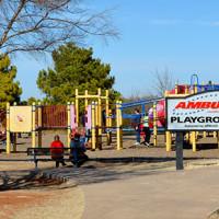 Playground at Mitch Park Edmond, Oklahoma